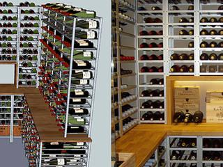 an example wine cellar: minimalistic Wine cellar by Richard Mclachlan - Homify