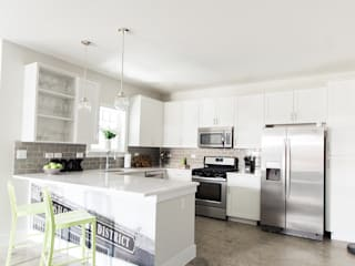 Urban Retreat:  Kitchen by Brett Nicole Interiors