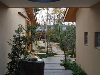 澤村昌彦建築設計事務所 Vườn phong cách châu Á