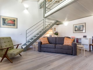 Ruang Keluarga Modern Oleh Architetto Francesco Franchini Modern
