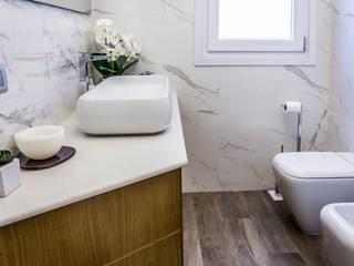 Nowoczesna łazienka od yesHome Nowoczesny