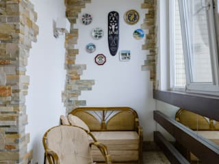 Terrace by  Яна Васильева. дизайн-бюро ya.va,