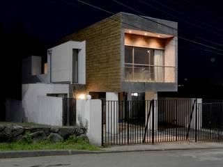 Casas de estilo minimalista de Sociedad Castillo Arquitectos Ltda. Minimalista