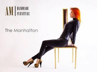 Manhattan Chair por Andrew McQueen Minimalista