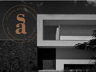 NOVA MARCA: Escritórios  por silvana albuquerque arquitetura e design