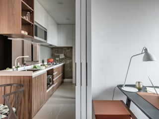 爾聲空間設計有限公司 Modern kitchen