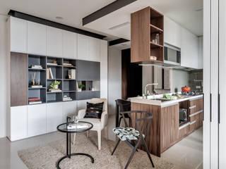 爾聲空間設計有限公司 Modern living room