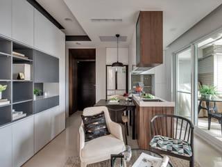爾聲空間設計有限公司 Modern dining room