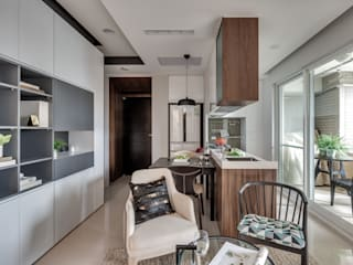 Modern dining room by 爾聲空間設計有限公司 Modern