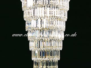 Waterfall Stairwell Chandeliers Classical Chandeliers 玄關、走廊與階梯照明