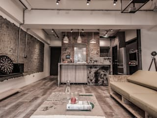 竹東 PC House:  庭院 by 丰墨設計 | Formo design studio