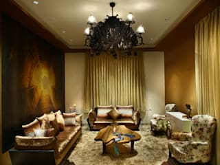Eclectic style living room by groupDCA Eclectic