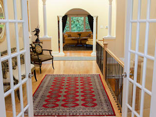 Colonial corridor, hallway & stairs by Jane Thompson Architect Colonial