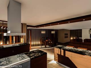 Modern kitchen by FRANCO CACERES / Arquitectos & Asociados Modern