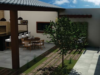 Casas de estilo  por SM Arquitetura e Engenharia, Moderno