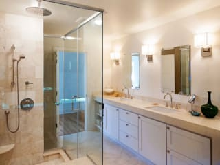 Chandler Project - Master Bathroom: modern Bathroom by New Leaf Home Design