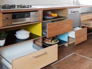 Kitchen in sakai: 西谷隆建築計画事務所が手掛けたです。,