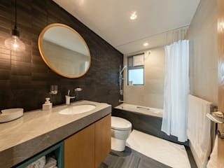 :  Bathroom by arctitudesign, Minimalist