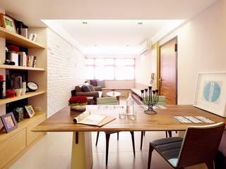 双設計建築室內總研所 ห้องทานข้าว