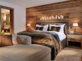 Hotel Arlberg Jagdhaus:  Schlafzimmer von Go Interiors GmbH