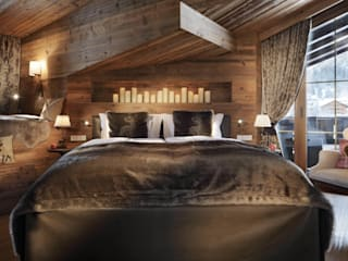 homify Chambre rurale