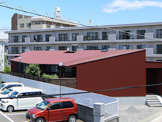 アジアンな個性派 平屋住宅: ing-環境設計室が手掛けた家です。,