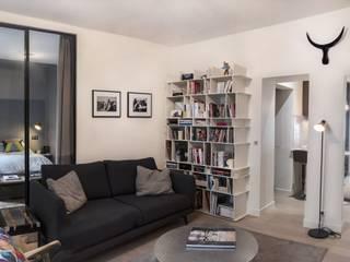 Modern Living Room by Xavier Lemoine Architecture d'Intérieur Modern