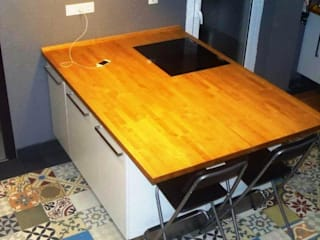 NATURAL FLOOR Suelo hidráulico KitchenBench tops