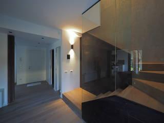 PA-House - vista da soggiorno:  in stile  di LASAstudio