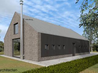 Schuurwoning Meppel:  Huizen door Koezen Architecten