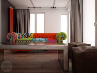 Nevi Studio Livings de estilo industrial Multicolor