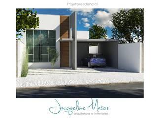 Casa moderna Casas modernas por Jacqueline Matos Arquitetura e Interiores Moderno