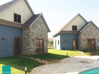 Doğancı Dış Ticaret Ltd. Şti. Paredes y suelos de estilo rural Piedra