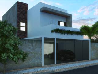Casa Moderna 2 Casas modernas por Jacqueline Matos Arquitetura e Interiores Moderno