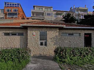 Doğancı Dış Ticaret Ltd. Şti. Paredes y suelos de estilo mediterráneo Piedra