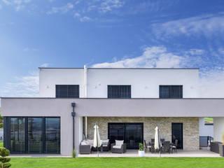 WimbergerHaus Leitner Perg Moderne Häuser von WimbergerHaus Modern