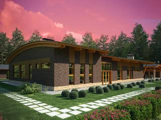 Проект дома в Белгородской области: Дома в . Автор – Дом и Ко