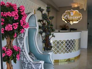 Eclectic style clinics by nihle iç mimarlık Eclectic