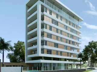 Гостиницы в . Автор – Veredas Arquitetura, Модерн
