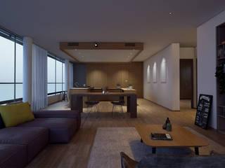 Hoteles de estilo moderno de Veredas Arquitetura Moderno