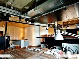 غرفة المعيشة تنفيذ iDiD點一點設計,