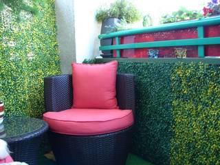 Artificial Garden Screen & Green Wall Covering Sunwing Industries Ltd Jardin classique Plastique Jaune