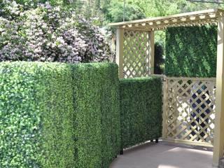 Artificial Garden Screen & Green Wall Covering Sunwing Industries Ltd Maisons mitoyennes Plastique Vert