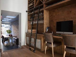 Balham House: eclectic Wine cellar by Blankstone