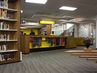 WITS HEALTH SCIENCES LIBRARY RECEPTION:  Schools by Architects Of Justice, Modern
