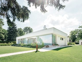 Bungalow Bauten Burckhardt Metall Glas GmbH Moderne Häuser