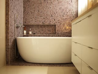 Eclectic style bathroom by dsgnduo Eclectic