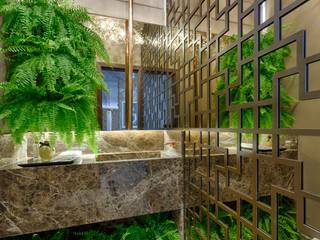 根據 Jacqueline Ortega Design de Ambientes 古典風