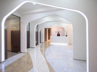 청담동 성형외과: 건축사사무소 재귀당의  서재 & 사무실