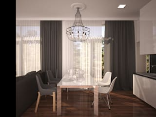 APRIL DESIGN Living room Wood White